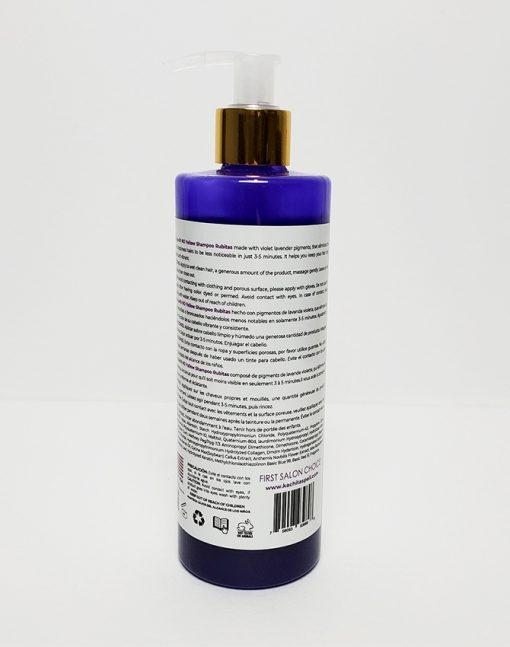 Purple Shampoo Rubitas 350ml Label