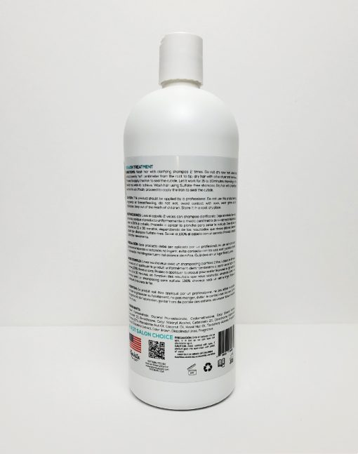 Keratin 3D Bright Liquid Fusion Label