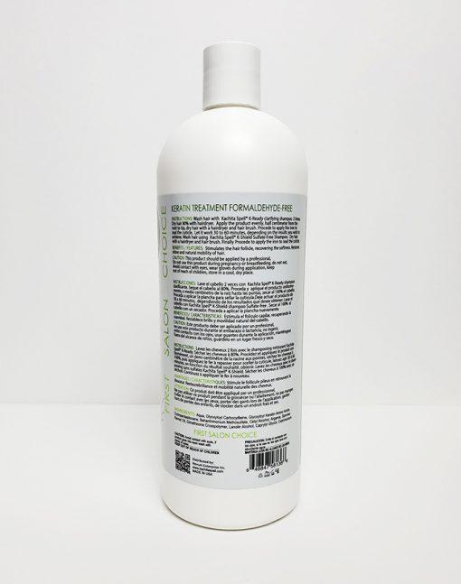 Keratin Formaldehyde Free Extreme Formula 32oz Label