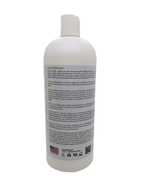 Keratin Formaldehyde Free Extreme Formula 32oz Sin formol Kachita