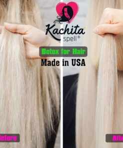 Kachita Spell Botox Capilar Before and After