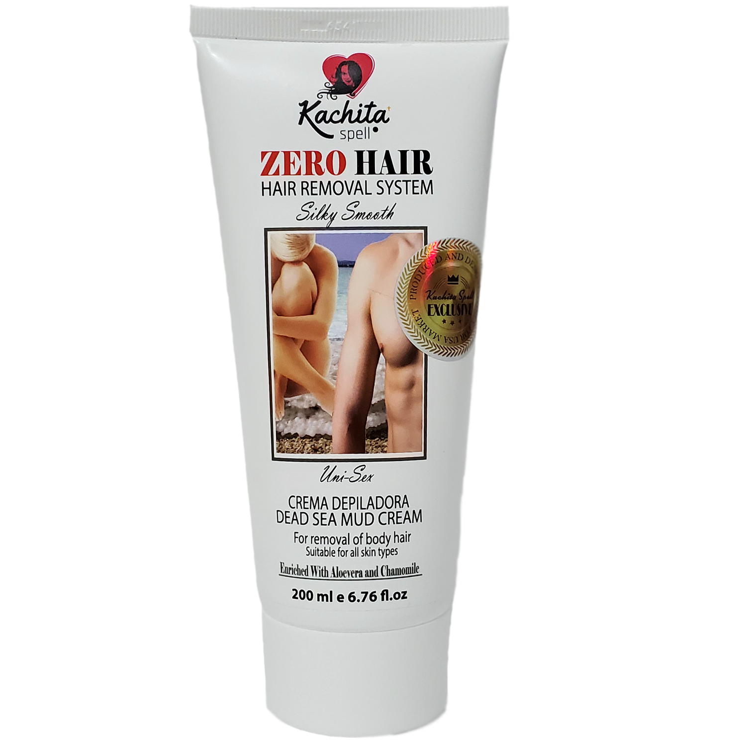 Zerohair Hair Removal System Depilatory Cream 6 76 Oz Kachita Spell