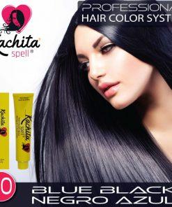 Blue Black 1.10 Hair Color Cream Kachita Spell
