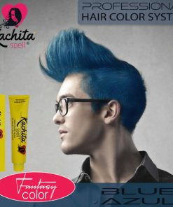 Blue Fantasy Shade Hair Color Cream Kachita Spell