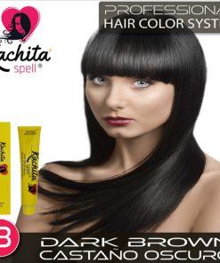 Dark Brown 3 Hair Color Cream Kachita Spell