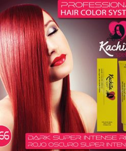 Dark Super Intense Red 6.66 Hair Color Cream Kachita Spell