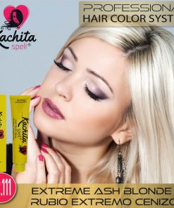 Rubio Extremo Cenizo 12.111 tintes para cabello de Kachita Spell