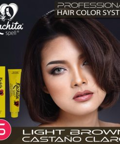 Light Brown 5 Hair Color Cream Kachita Spell