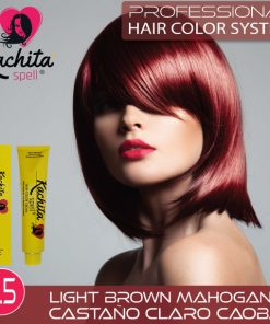 Light Brown Mahogany 5.5 Hair Color Cream Kachita Spell