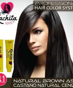 Natural Brown Ash 4.1 Hair Color Cream Kachita Spell