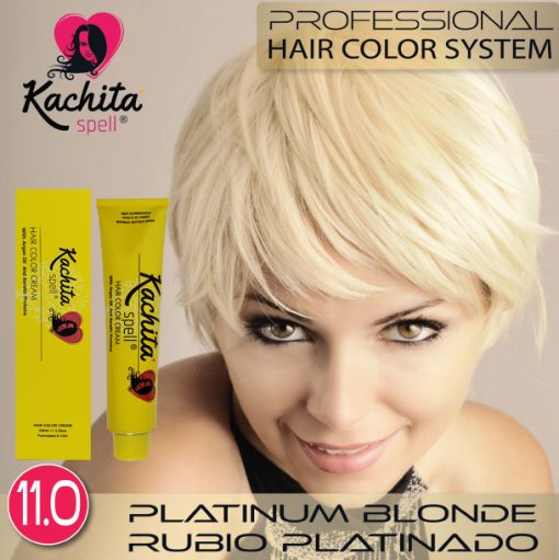Platinum Blond 11 Hair Color Cream Kachita Spell