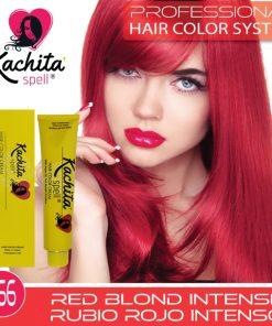 Red Blond Intense 7.66 Hair Color Cream Kachita Spell