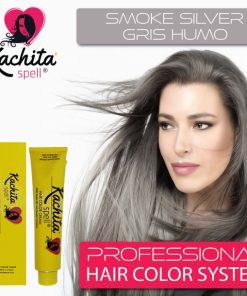 Smoke Silver Shade Hair Color Cream Kachita Spell