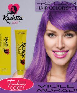 Violet Fantasy Shade Hair Color Cream Kachita Spell