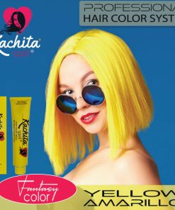 Yellow Fantasy Shade Hair Color Cream Kachita Spell