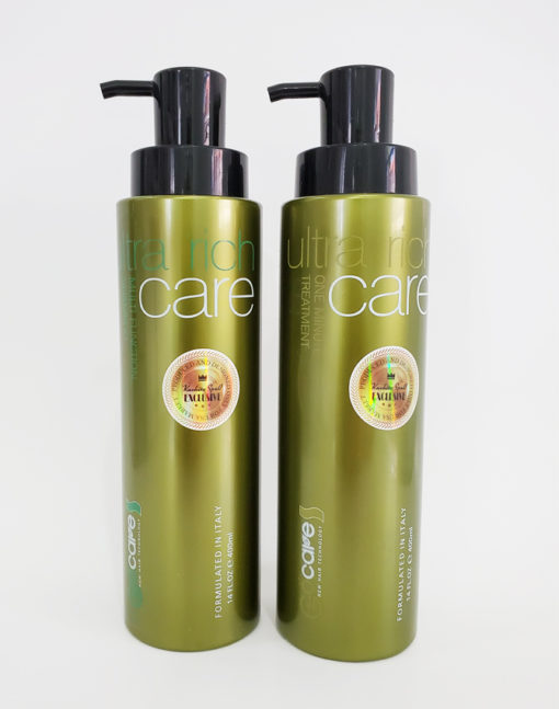 Ultra Rich Shampoo + Conditioner One Minute Hair Treatment Kachita Spell