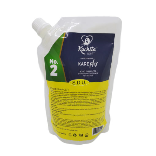Kachita Spell KarePLEX Bond No2 Bond Enhancer Supplying the Hair Nutrition Enriched with Argan Oil Perfector 500 ml