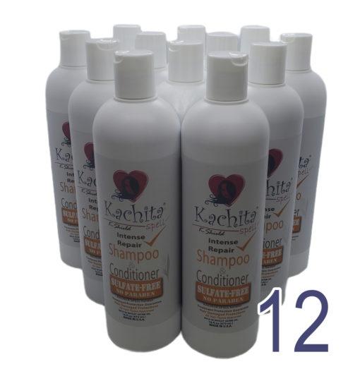 12 Pack Shampoo Conditioner K-Shield 16oz