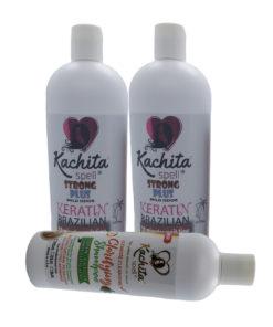 2 Keratin Chocolate Strong Plus 32oz + Clarifying Shampoo K-Ready